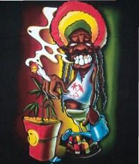 Images fun sur le cannabis et marijuana - Dessin de rasta ...